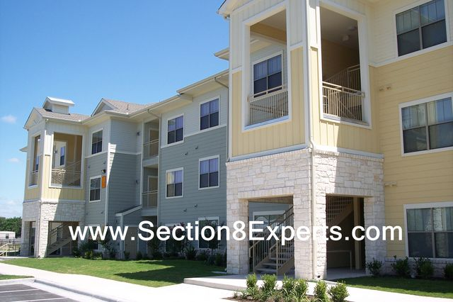 Haca, the Housing Authority of the City of Austin may give you section 8 vouchers  these apartments will accept